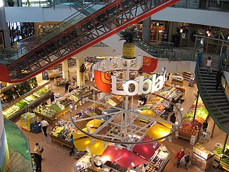 Loblaws - Loblaws at Empress Walk, North York, Ontario, 2007