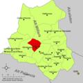 Localització d'Aranyuel respecte de l'Alt Millars.png