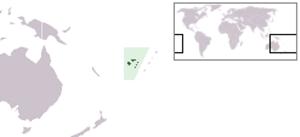 Rabi Island - Image: Location Fiji