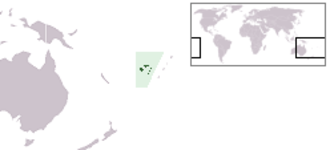 Vanua Balavu - Image: Location Fiji