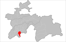 Location of Farkhor District in Tajikistan.png