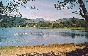 Loch Ard - View west from Ledard