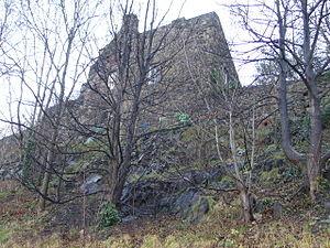 Robert Logan of Restalrig - Robert Logan's home, Lochend Castle at Restalrig