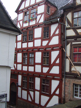 Mikhail Lomonosov - The Lomonosov house in Marburg, Germany.