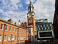 London-Woolwich, Market St, Town hall & Woolwich Centre.jpg