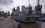 London MMB «G6 City Canal, HMS Richmond.jpg