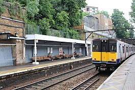 London Overground Class 315 at Stoke Newington June 2019.jpg