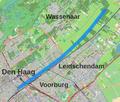 Loop van de Schenk (waterloop) door Den Haag en Wassenaar.png