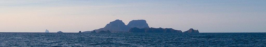 Lord Howe Island panoramic