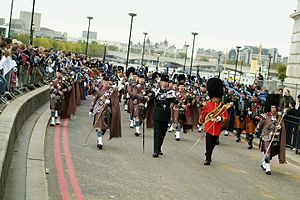 London Regiment - Image: Lord Mayor's Show, London 2006 (295300390)
