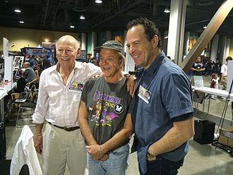 Loren Lester - Lester with Jim Cummings and Alan Oppenheimer