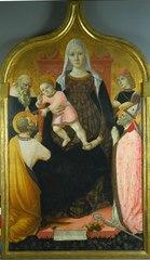 Virgin and Child, with Saints Anthony Abbott, Mark, Severino, and Sebastian