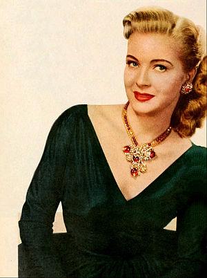 Lori Nelson - in 1952