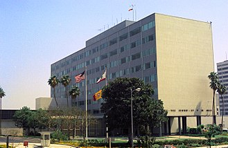Los Angeles Police Department - The former Administration Building in 1976