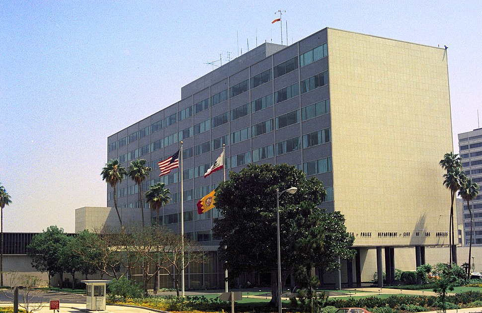 Los Angeles Police Administration Building - 1976