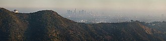 Hollywood Hills - Los Angeles from Hollywood Hills