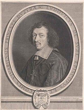 Louis-François de la Baume de Suze - Louis-François de la Baume de Suze