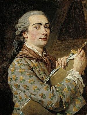 Louis-Jean-François Lagrenée - Self-portrait, 1750s