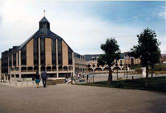 Ottignies-Louvain-la-Neuve - Image: Louvain la Neuve JPG