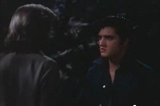 Loving You (1957 film) - Deke confronts Glenda after she finds him.