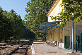Image illustrative de l'article Gare de Luc-en-Diois