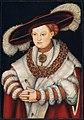 Lucas Cranach, the Elder - Portrait of Magdalena of Saxony, Wife of Elector Joachim II of Brandenburg - 1938.310 - Art Institute of Chicago.jpg