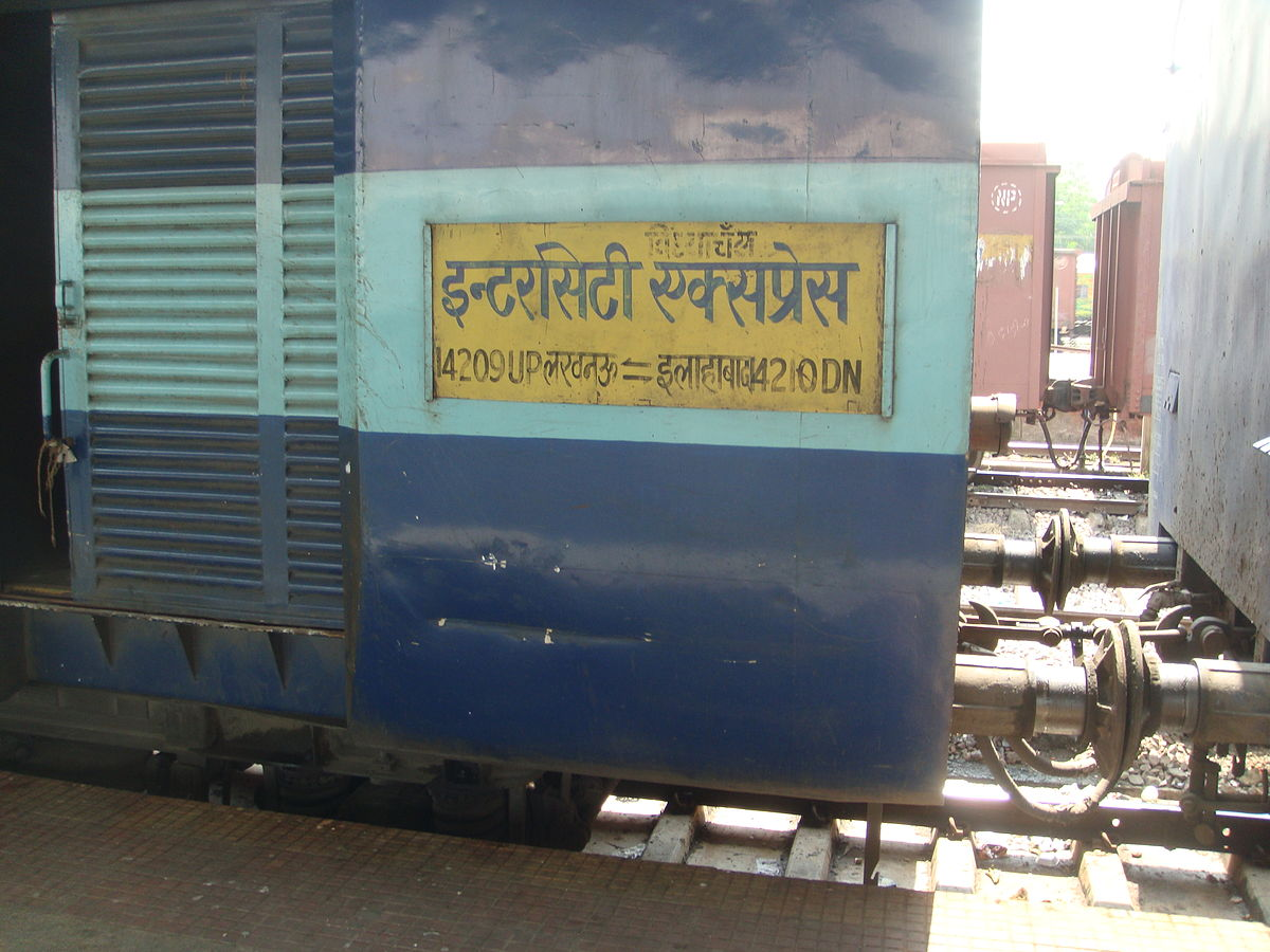 Lucknow Vindhyachal Intercity Express Wikipedia