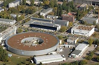 Physikalisch-Technische Bundesanstalt - Image: Luftbild Adlershof PTB