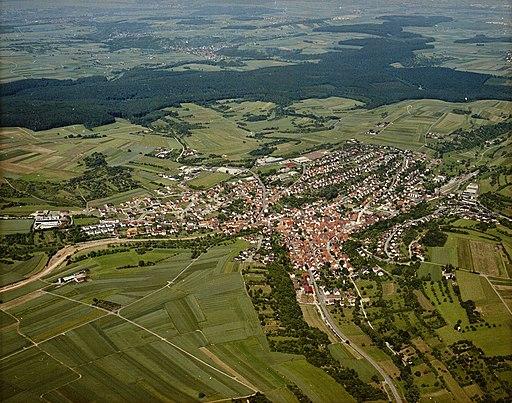 Luftbildarchiv Erich Merkler Weissach 1984 N 1 96 T 1 Nr. 510
