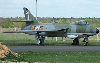McDonnell Douglas F-4 Phantom II in UK service - Hawker Hunter