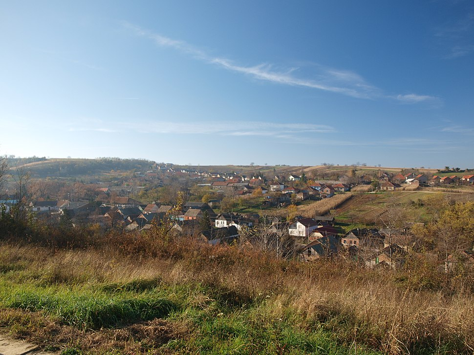 Lug village in northern Serbia