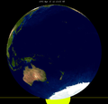 Lunar eclipse from moon-1995Apr15.png