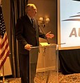 Luther Strange speaking at Austal USA Supplier Day in Washington, D.C. C7Y8BKEX0AQ xyV (cropped).jpg