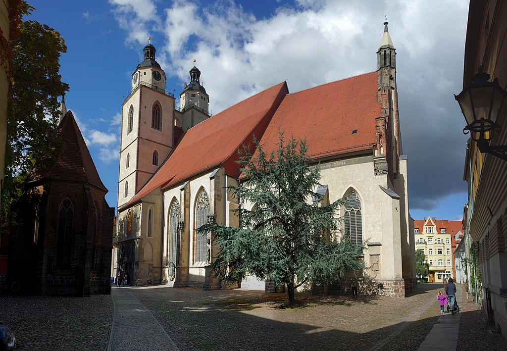 Lutherstadt Wittenberg,Kirchplatz,Stadtpfarrkirche St. Marien
