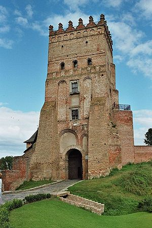 Volhynia - Lubart's Castle (Lutsk) was the seat of the medieval princes of Volhynia.