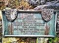 Luxembourg-Bock, plaque commémorative en mémoire de Jean l Aveugle.jpg