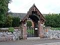 Lychgate at Clyst St George - geograph.org.uk - 1309374.jpg