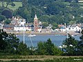 Lympstone Devon. Taken from across the Exe at Powderham Castle. - panoramio.jpg
