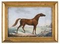 Måleri. Hästporträtt. Juwel - Skoklosters slott - 87332.tif