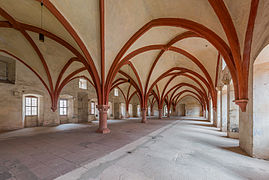 Mönchsdormitorium, Kloster Eberbach (Rectillinear Projection) 20140903 1.jpg