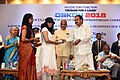 M. Venkaiah Naidu felicitating the women who have survived acid attack and got their vision restored, at the OSKON 2018 (Ocular Surface and Keratoprosthesis Conference), organised by Sankara Netralaya, in Chennai.JPG