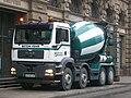 MAN Cement mixer truck - Strasbourg.JPG