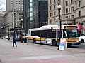 MBTA routes 502, 503, and 10 buses at Copley Square, February 2017.JPG