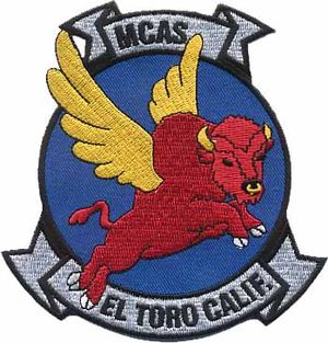 Marine Corps Air Station El Toro - Air station insignia An earlier cartoon version was designed by Walt Disney Studios.