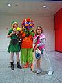 MCM London 2013 - Zelda, Link & Skull Kid (8963028010).jpg