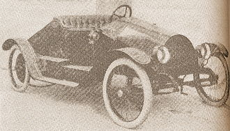 Cyclecar - 1914 MHV Hawk