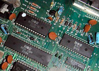 MOS Technology 6510 8-bit microprocessor
