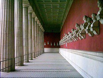 Ruhmeshalle (Munich) - Interior of the Ruhmeshalle
