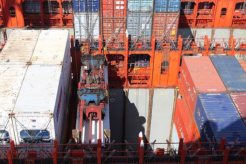 File:MV Monte Alegre Containers 290817.jpg