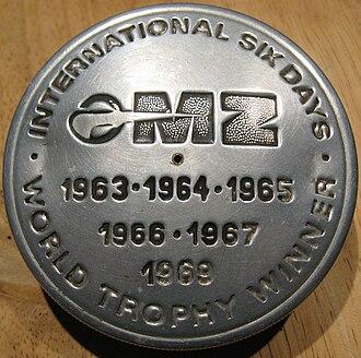 MZ Motorrad- und Zweiradwerk - Enduro victories in the 1960s